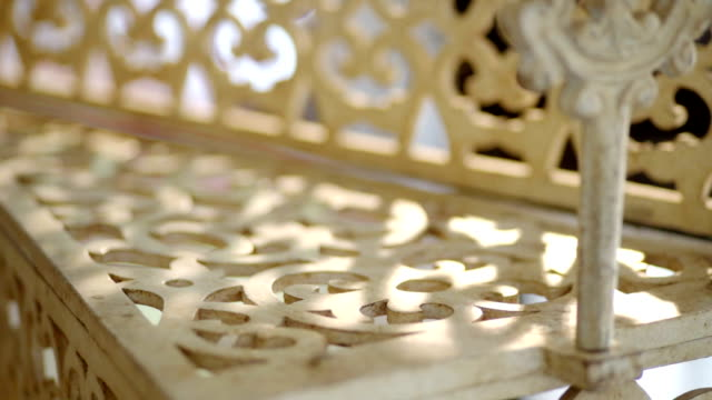 interior stencil white metal staircase. - stencil stock videos & royalty-free footage