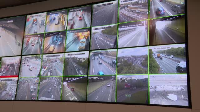 Interior Transport for London traffic control centre