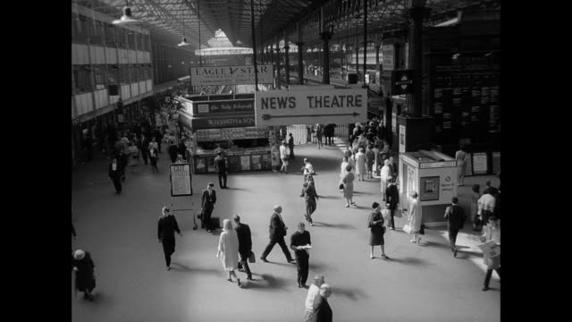 1965 Interior, UK Railroad Station