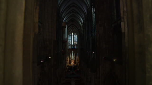 WS TD Interior view of Cologne Cathedral / Cologne, Germany