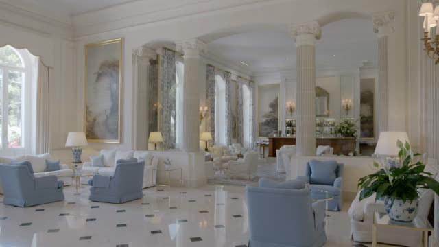 MS PAN Interior view of Hotel du Cap / Antibes, France