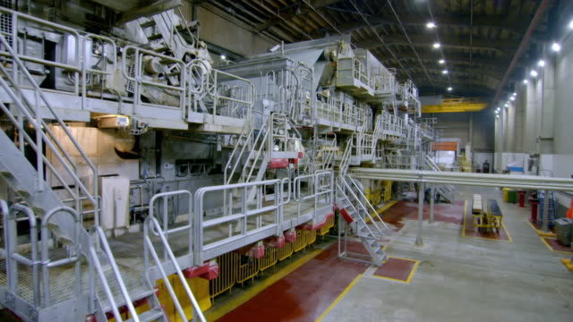 interior views of factory - manufacturing machinery stock videos & royalty-free footage