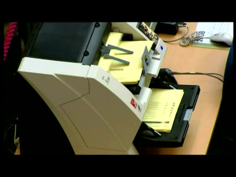 interiors var of local & mayoral election votes being counted at city hall. - var stock videos & royalty-free footage