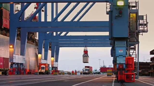 Intermodal Activity in Container Terminal