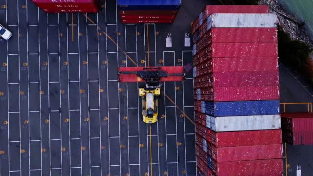 Intermodal Container Loading in Port