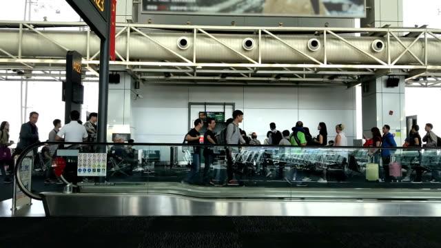 国際空港ターミナル。 - 唯一点の映像素材/bロール