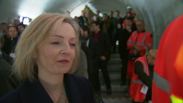 International Development Secretary Priti Patel resigns over Israeli meetings Liz Truss MP inteview SOT
