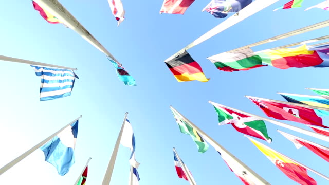 international flags - national flag stock videos and b-roll footage