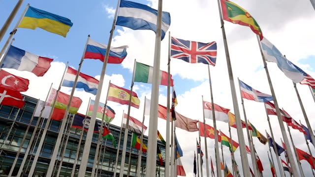 international flags - brexit stock videos & royalty-free footage