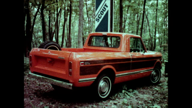1976 international harvester terra pickup truck commercial - television advertisement stock videos & royalty-free footage