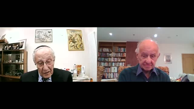 international holocaust remembrance day: zigi shipper and manfred goldberg interview; england: london: int zigi shipper and manfred goldberg joint... - war and conflict stock videos & royalty-free footage