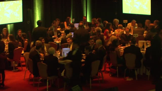 international rescue committee freedom award benefit at waldorf astoria hotel on november 04 2015 in new york city - waldorf astoria new york stock videos & royalty-free footage