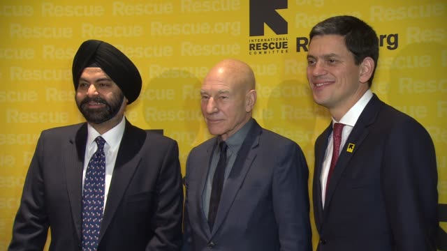 International Rescue Committee Freedom Award Benefit at Waldorf Astoria Hotel on November 04 2015 in New York City