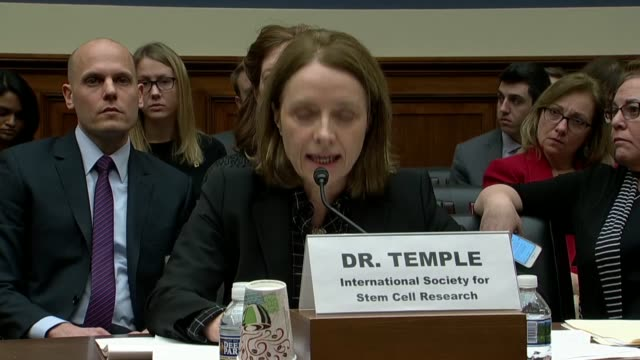 international society for stem cell research board member sally temple testifies at a house oversight and government reform subcommittee hearing on... - cell structure stock videos & royalty-free footage