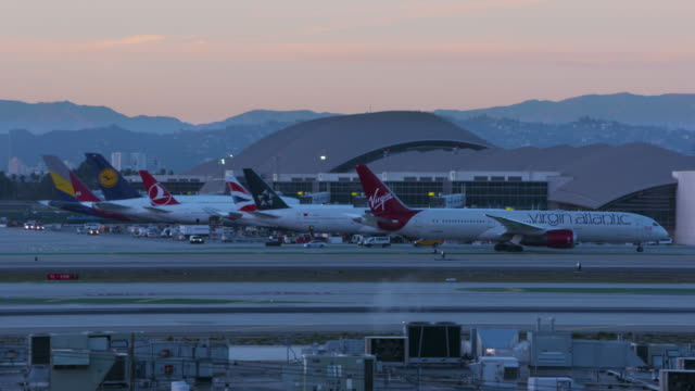 international terminal - boeing 787 stock videos and b-roll footage