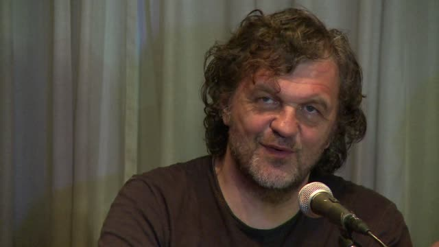 internationally acclaimed film director emir kusturica is wrapping up a documentary on uruguay's former president josé mujica, known worldwide for... - documentary film stock videos & royalty-free footage