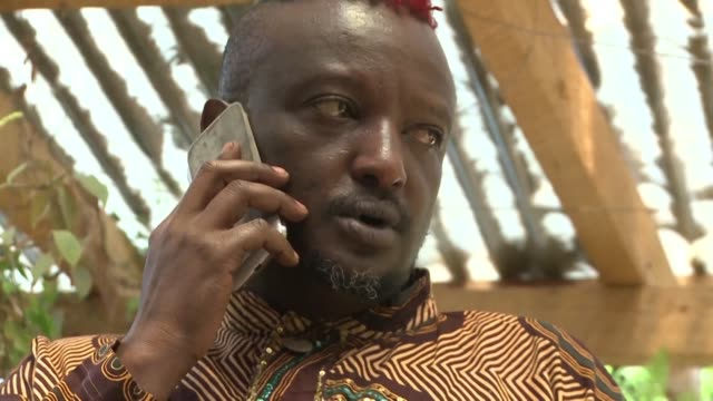 KEN: FILE: Wainaina Kenyan writer and gay activist dies at 48