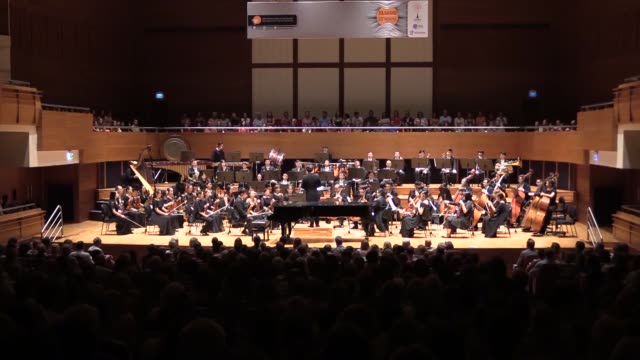 internationallyrenowned turkish pianist and composer fazil say performs alongside the shanghai philharmonic orchestra at the closure of the istanbul... - 6 11 months stock videos & royalty-free footage
