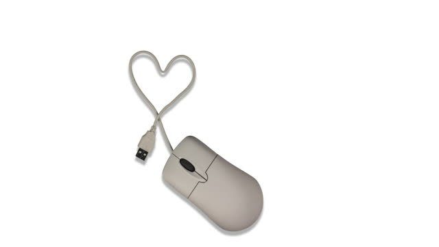 Internet computer mouse looking for love