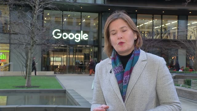 Internet news business BuzzFeed to axe jobs in US and UK ENGLAND London Kings Cross Google EXT Reporter to camera