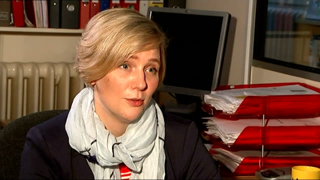 online trolls could face two year prison sentences ENGLAND London INT Stella Creasy MP interview SOT
