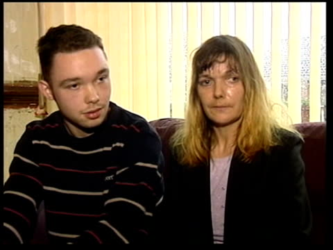 internet paedophile jailed itn carol merryfield interview sot like to smack him round the face terence merryfield interview sot he used to spend... - merseyside stock videos and b-roll footage