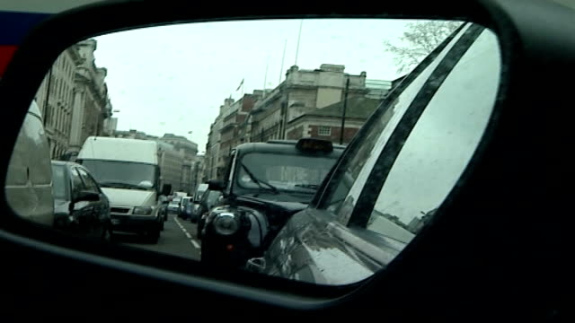 internet petition against road pricing plans traffic ahead seen through windscreen track side mirror showing cars stuck in traffic traffic jam track... - petition stock videos & royalty-free footage