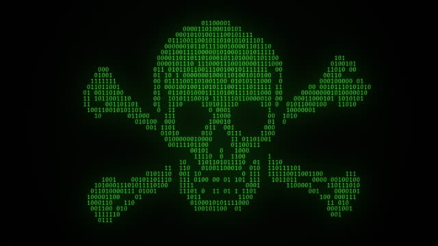 internet piracy digital pirate flag animation green - loopable moving image stock videos & royalty-free footage