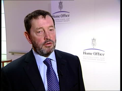 operation ore; london: ext/night tgv houses of parliament illuminated int david blunkett mp interviewed sot - it's important we don't finger people... - metal ore stock videos & royalty-free footage