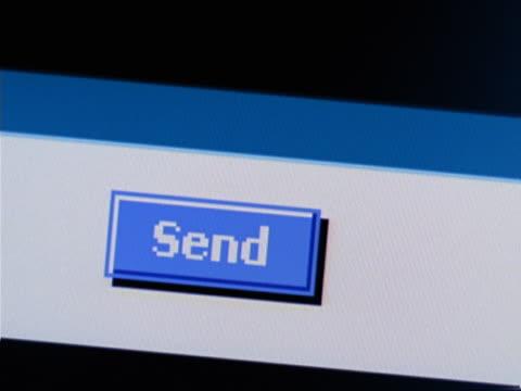 internet send icon - cursor stock videos & royalty-free footage