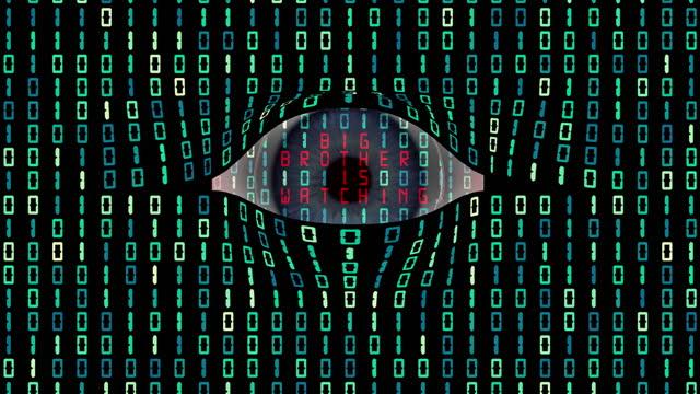 internet spying, surveillance, and cyber security - storebror bildbanksvideor och videomaterial från bakom kulisserna