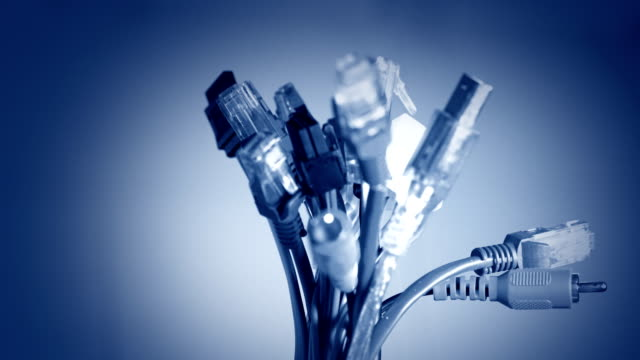 internetnet hub cable network - complexity stock videos and b-roll footage
