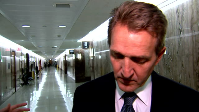 calls for perpetrators to be proscuted USA Washington Senator Jeff Flake interview SOT