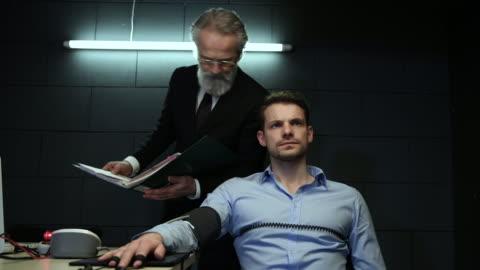 審訊室 - 犯罪 個影片檔及 b 捲影像