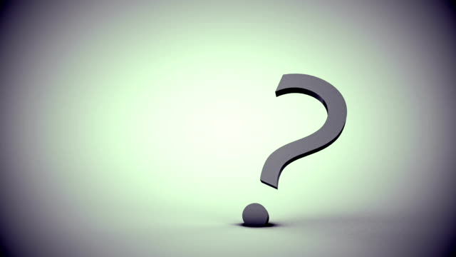 interrogation symbol - question mark stock videos & royalty-free footage