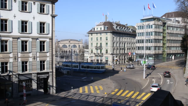 Intersection Central Zurich