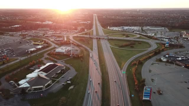 stockvideo's en b-roll-footage met interstate highway in ohio - ohio