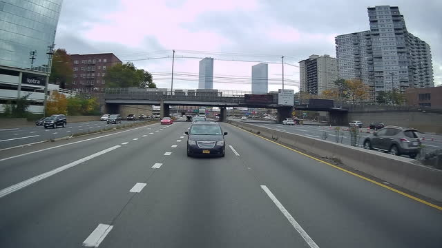 interstate traffic in new jersey - new jersey stock videos & royalty-free footage