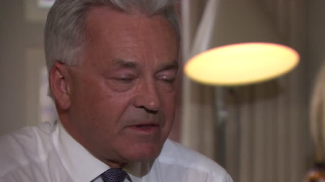 "interview alan duncan mp, about concerns about boris johnson ahead of his predictded conservative leadership victory ""i have very grave concerns that... - alan duncan stock videos & royalty-free footage"