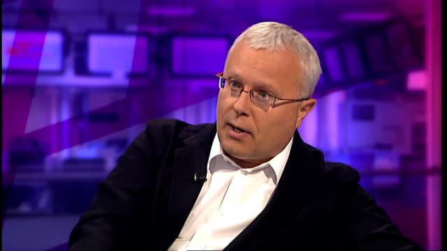 interview alexander lebedev on russian politics and vladimir putin; england: london: gir: int alexander lebedev interview sot - talks of anti-putin... - wealth stock videos & royalty-free footage