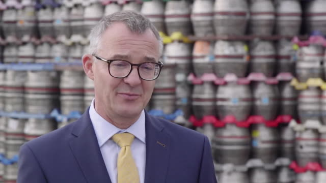interview alistair darby ceo sa brain and co about damage the two week autumn lockdown in wales to tackle rising coronavirus cases will do to the pub... - week stock videos & royalty-free footage