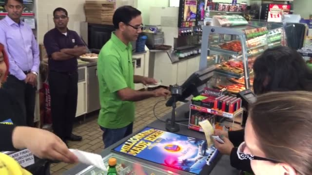 interview and b-roll with the owner of the store - lottery stock videos & royalty-free footage