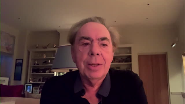 interview andrew lloyd webber, composer, on andrew marr show, about his feeling on when live theatre will be back after the coronavirus pandemic - musician stock videos & royalty-free footage