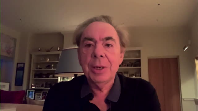 interview andrew lloyd webber, composer, on andrew marr show, about being part of the oxford astrazeneca coronavirus vaccine trial - musician stock videos & royalty-free footage