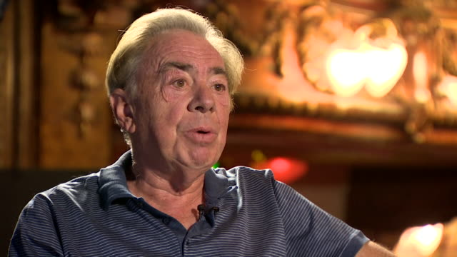 interview andrew lloyd webber composer wants the government to give theatres a date as to when they can reopen after coronavirus lockdown - musician stock videos & royalty-free footage