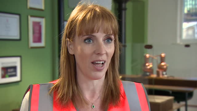 """interview angela rayner mp, deputy labour leader, about concerns as people travelling to the uk from eu and usa no longer need to quarantine if they... - """"bbc news"""" stock videos & royalty-free footage"""