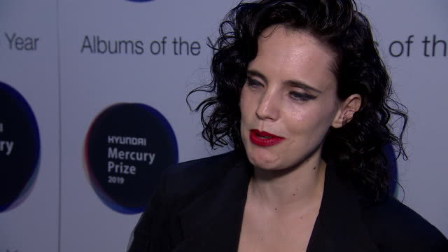interview anna calvi singer about the importance of being nominated for a mercury prize to get your music out there and for other people to hear... - calvi stock videos & royalty-free footage
