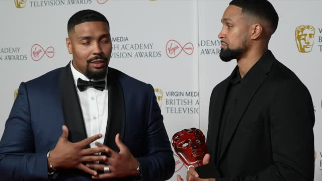interview ashley and jordan banjo, diversity, about winning tv bafta 2021 must see moment award for their black lives matter inspired performance on... - skill stock videos & royalty-free footage