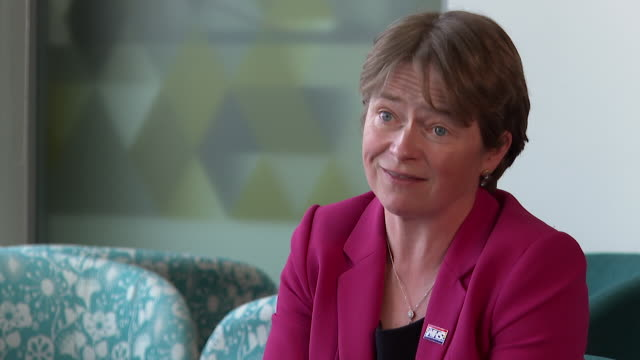 interview baroness dido harding, nhs test and trace, about increasing the amount of coronavirus walk in test centres in urban areas across england - city stock videos & royalty-free footage