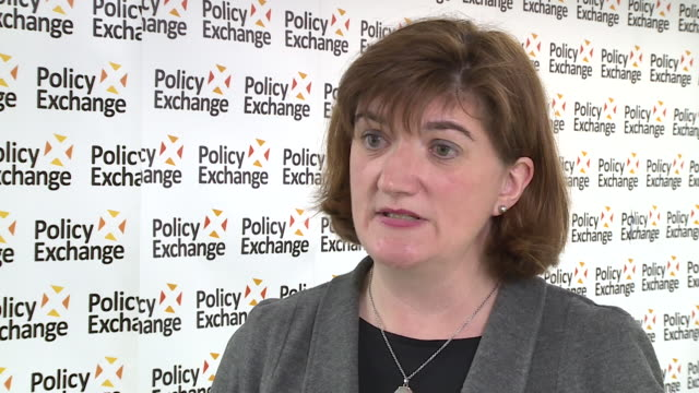 interview baroness nicky morgan culture secretary about the review of the bbc's licence fee and whether failure to pay should be a criminal offence - baroness stock videos & royalty-free footage